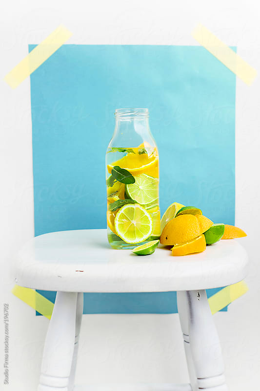 Fresh summer drink by Studio Firma for Stocksy United