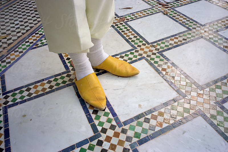 Traditional Moroccan slippers. by Hugh Sitton for Stocksy United