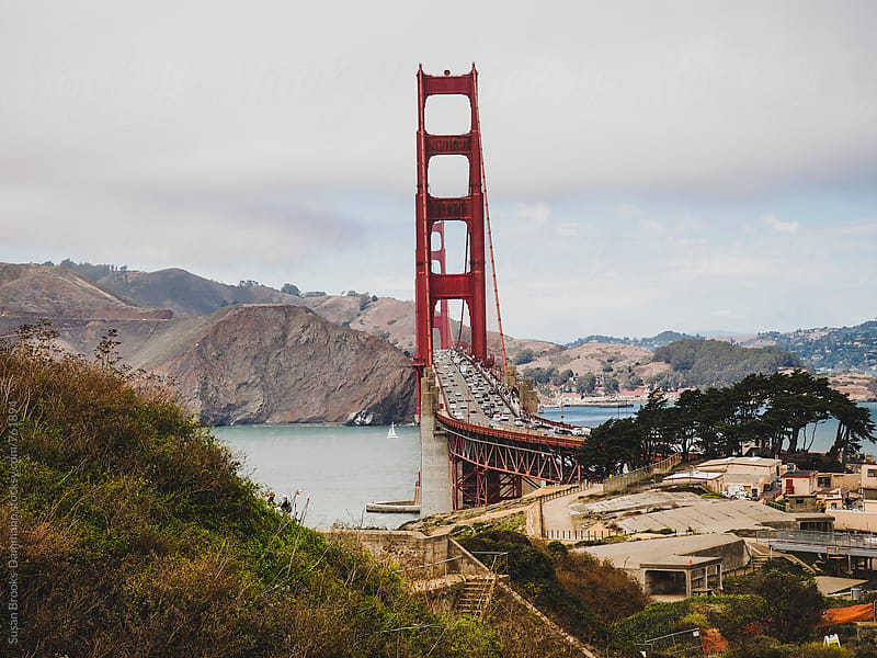 Golden Gate Bridge by Susan Brooks-Dammann for Stocksy United