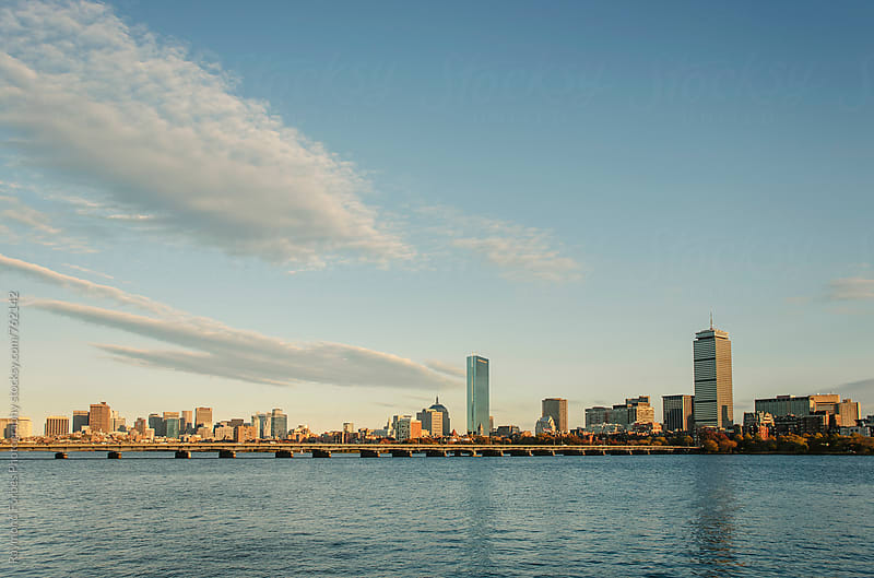 Charles River Boston in Autumn by Raymond Forbes LLC for Stocksy United