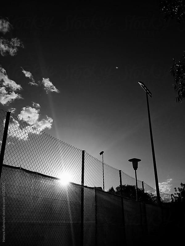 Tennis playground by Hamza Kulenović for Stocksy United