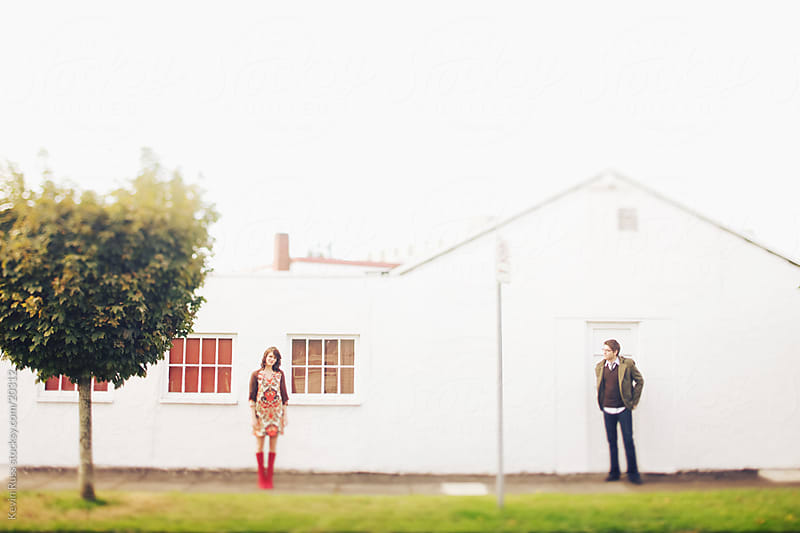 Building Couple by Kevin Russ for Stocksy United