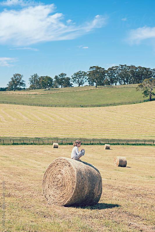 rural childhood by Gillian Vann for Stocksy United