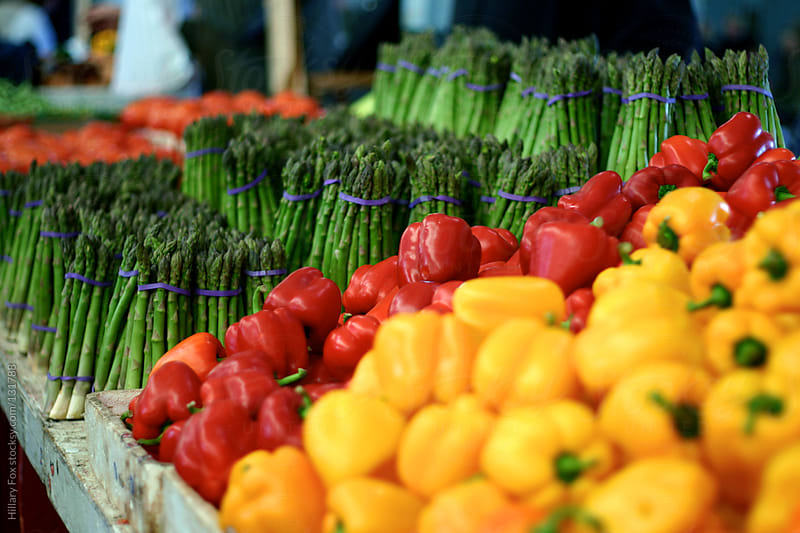 Farmers Market by Hillary Fox for Stocksy United