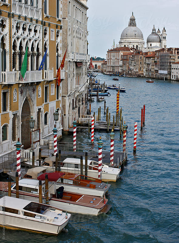 Venice Grand canal and Santa Maria della Salute by Bratislav Nadezdic for Stocksy United