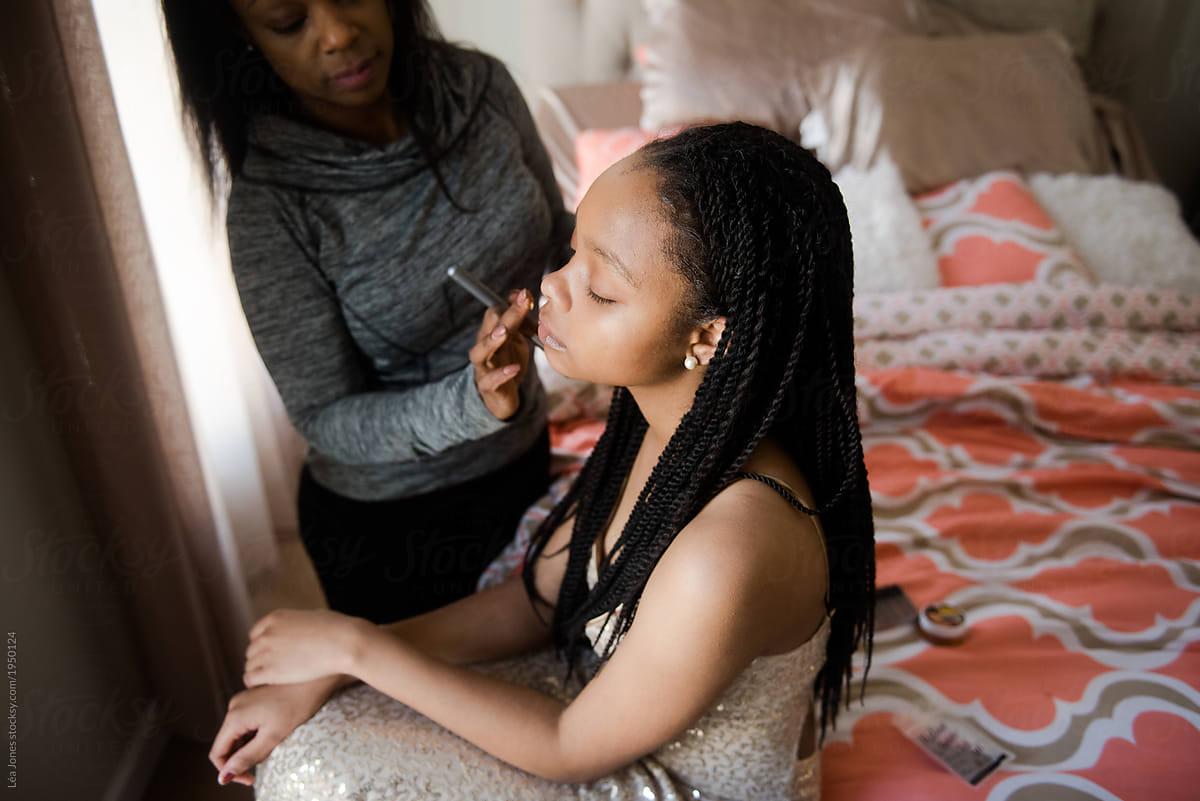 Ebony Teen Gets All Her