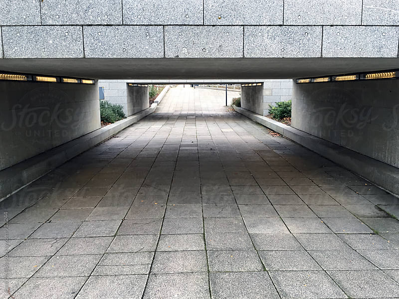 Underpass or subway in a city centre. by Paul Phillips for Stocksy United
