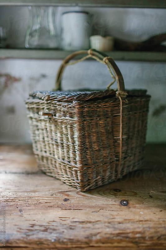 Wicker basket  by Zocky for Stocksy United