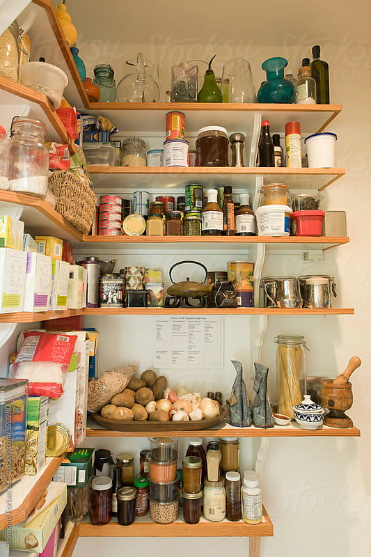Pantry in Residential Kitchen by Raymond Forbes LLC for Stocksy United