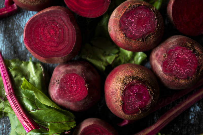 Raw Organic Beets by Jeff Wasserman for Stocksy United