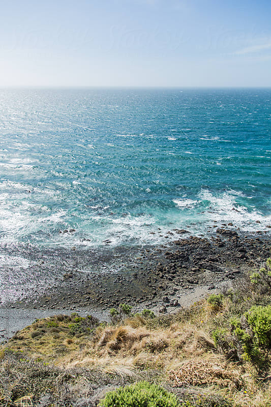 The wild coast of the Wellington Region, NZ by Maximilian Guy McNair MacEwan for Stocksy United