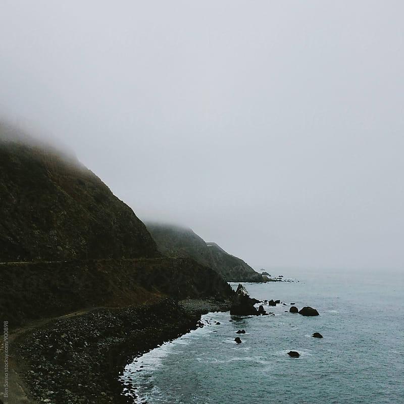 Coastal Cliffs by Ben Sasso for Stocksy United