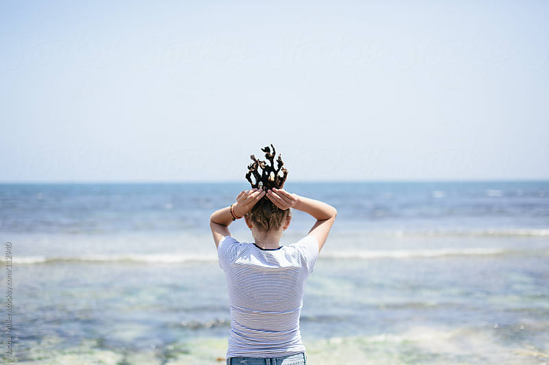 A Coral crown by Jacqui Miller for Stocksy United