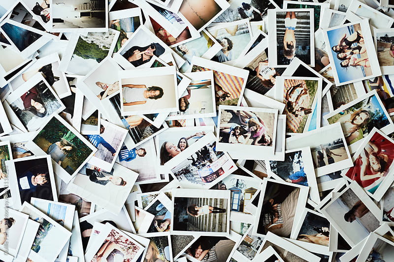 Collection of instant images