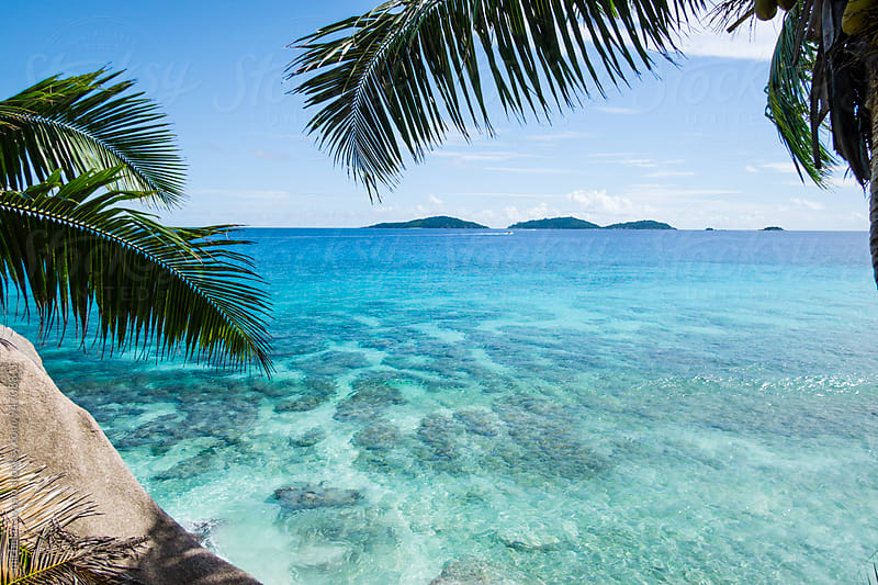 Crystalline sea of Seychelles by michela ravasio for Stocksy United