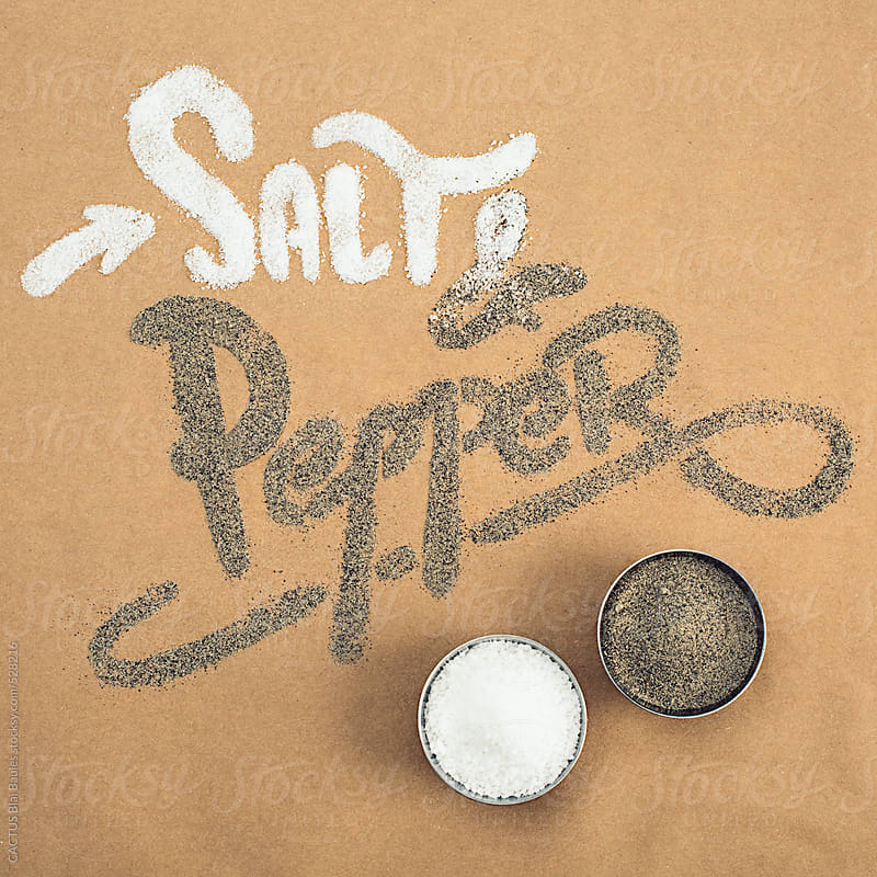 Salt and pepper by CACTUS Blai Baules for Stocksy United