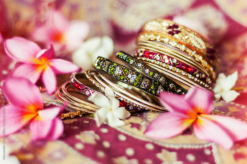 Indian Wedding Accessories by Alexander Grabchilev for Stocksy United