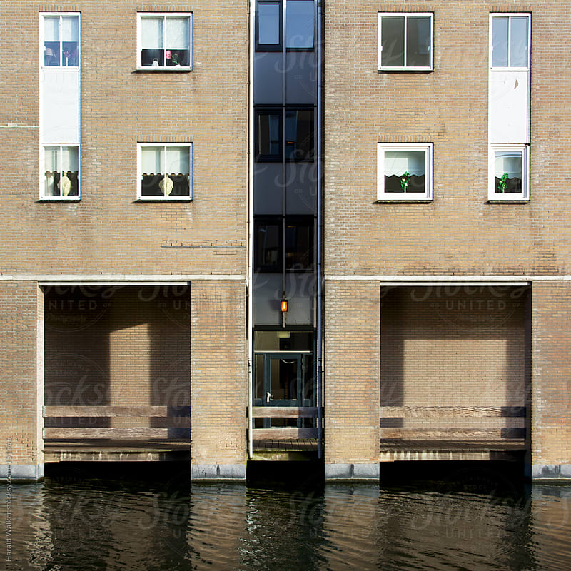 Dutch apartment building by Harald Walker for Stocksy United