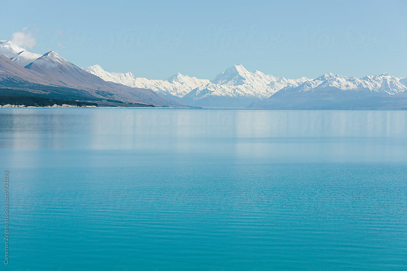 New Zealand lake by Cameron Zegers for Stocksy United