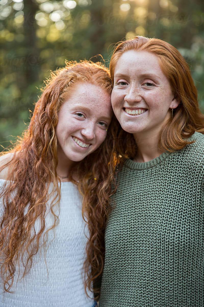 Sisters Real Redhead