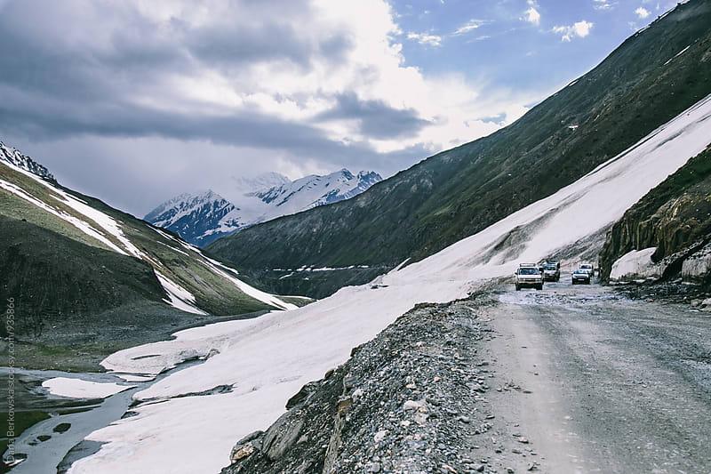 Mountains of Ladakh, India by Daria Berkowska for Stocksy United