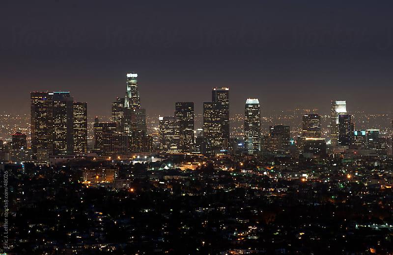 LA Skyline by Eric J. Leffler for Stocksy United