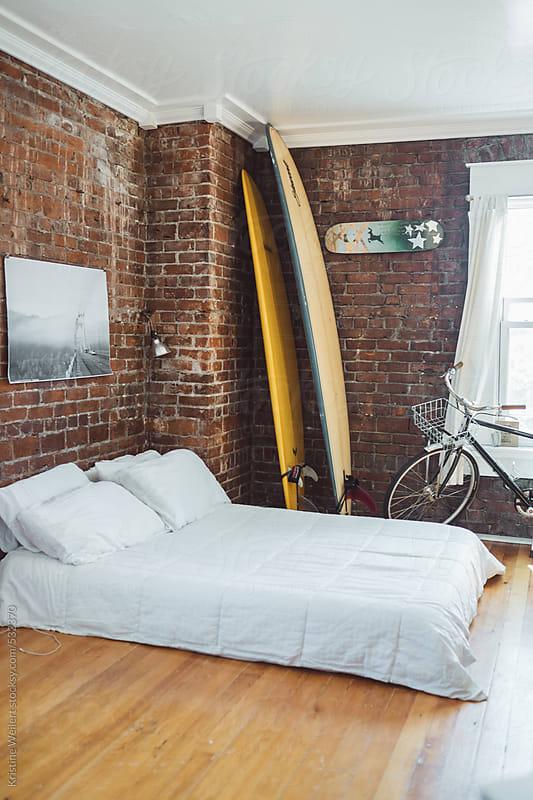Hip Urban Studio Apartment by Kristine Weilert for Stocksy United