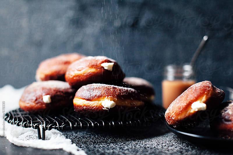 Cheesecake donuts  by Ellie Baygulov for Stocksy United