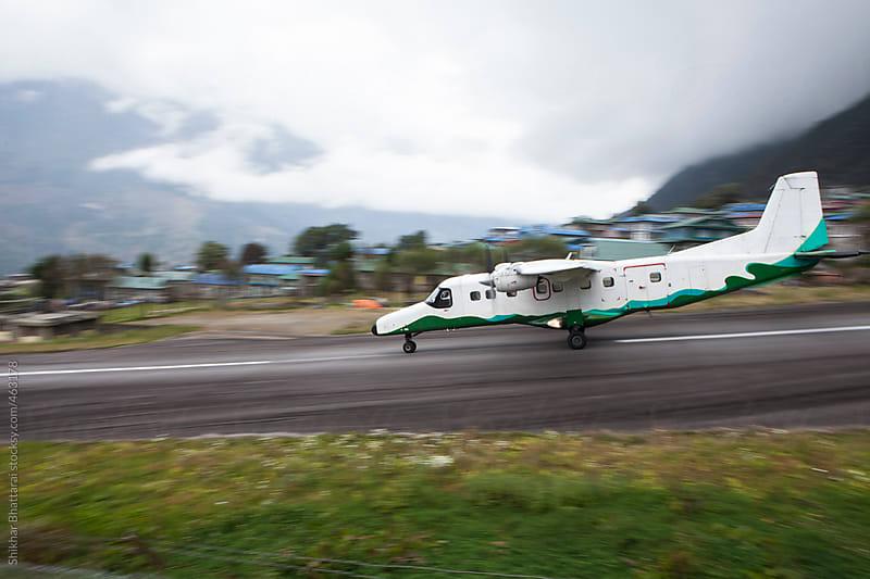 Tenzing-Hillary Airport, Lukla, Solukhumbu, Nepal. by Shikhar Bhattarai for Stocksy United