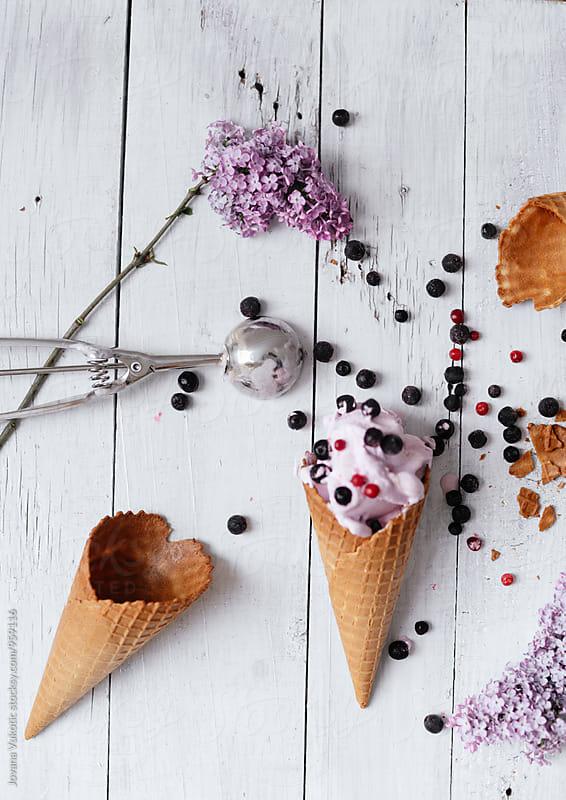 Ice cream  by Jovana Vukotic for Stocksy United