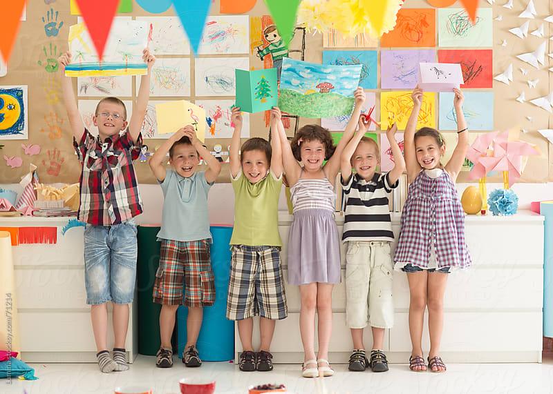 Happy Preschoolers by Lumina for Stocksy United
