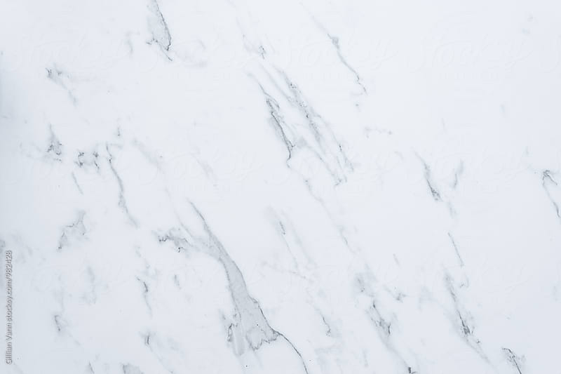 plain marble background by Gillian Vann for Stocksy United