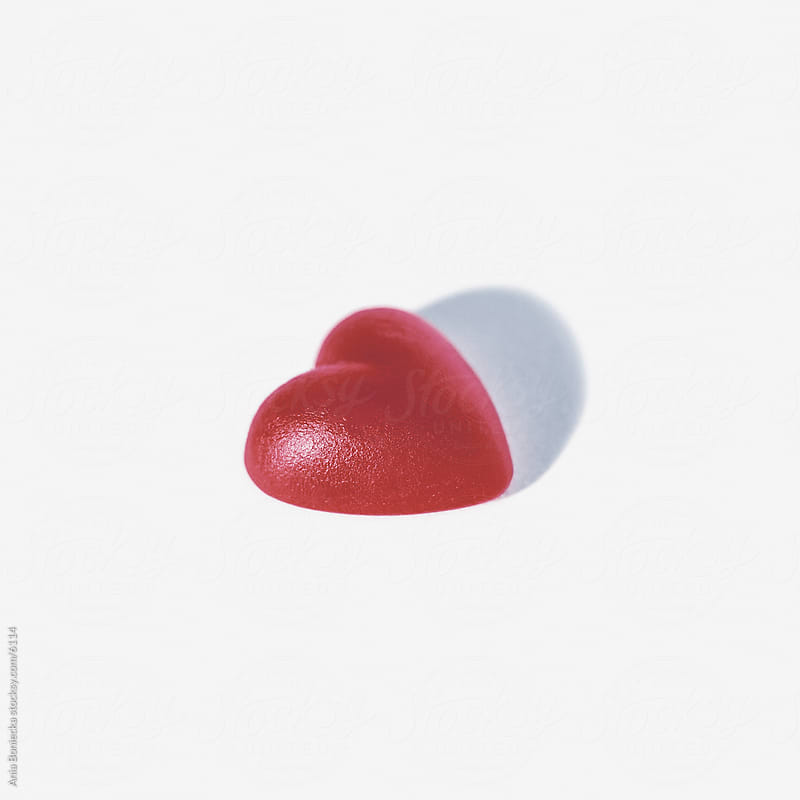 Vanlentine's day candy heart by Ania Boniecka for Stocksy United