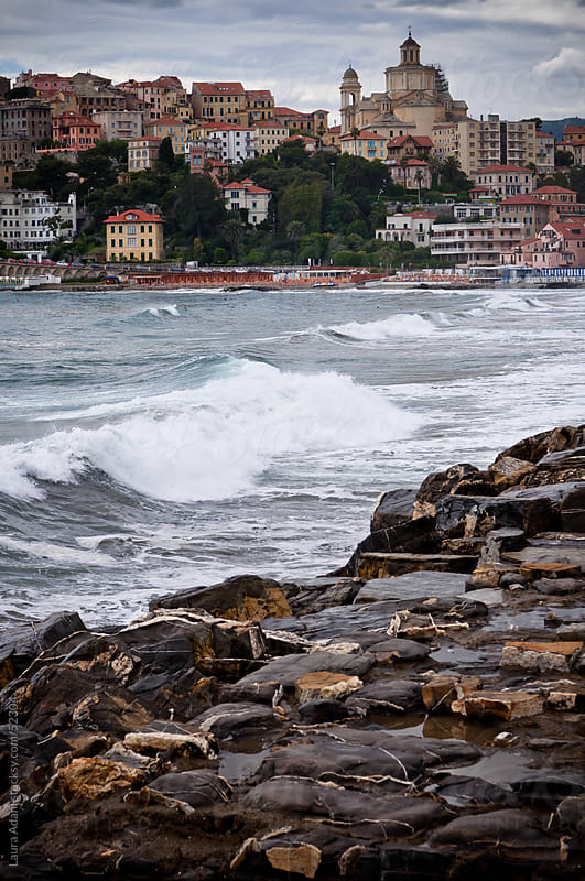 the liguria coast  by Laura Adani for Stocksy United