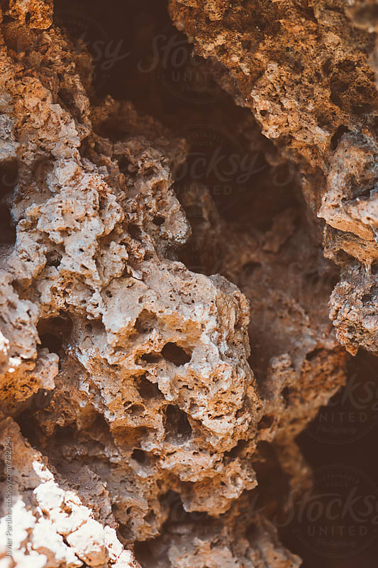 details of the mineral in the mountains by Javier Pardina for Stocksy United