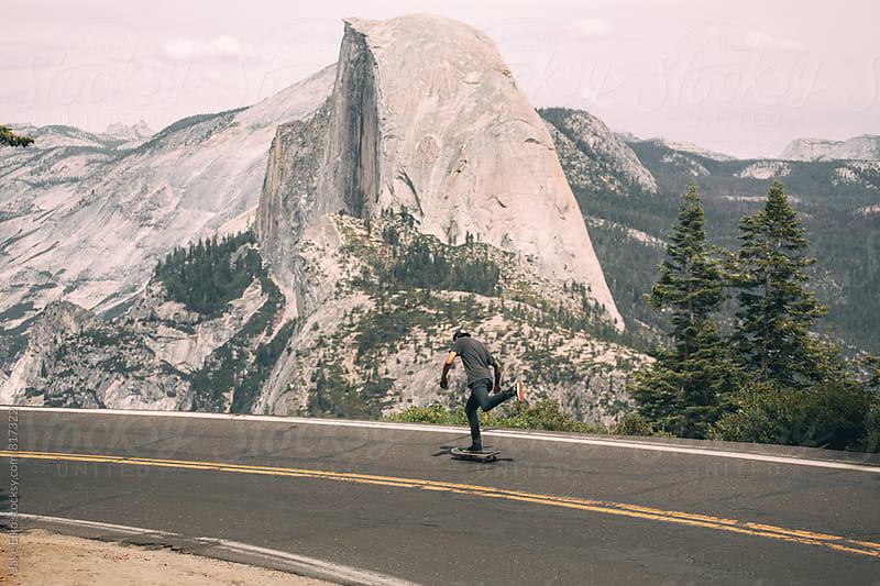 Yosemite Skate by Jake Elko for Stocksy United
