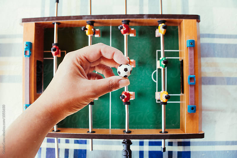 Table soccer by Giada Canu for Stocksy United