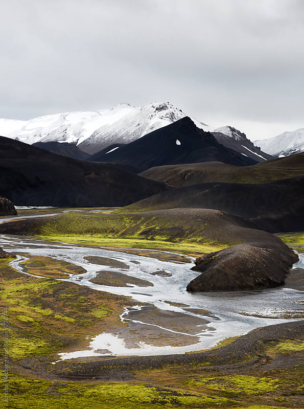 The Icelandic highlands by Jonatan Hedberg for Stocksy United