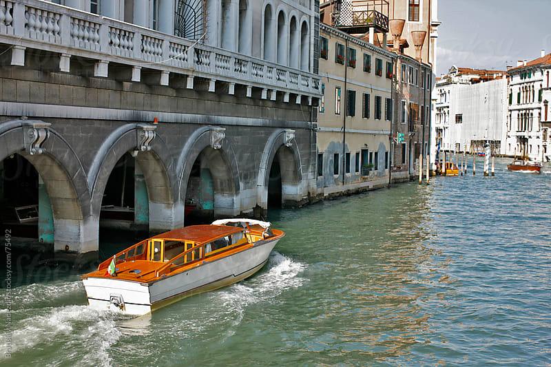 Venice Grand canal by Bratislav Nadezdic for Stocksy United