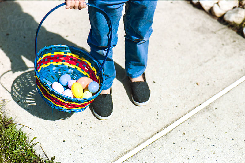 Easter Egg Hunt  by Cameron Whitman for Stocksy United