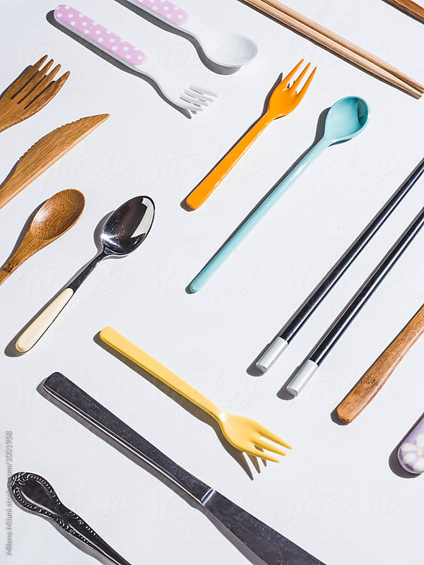 Cutlery by Milena Milani for Stocksy United