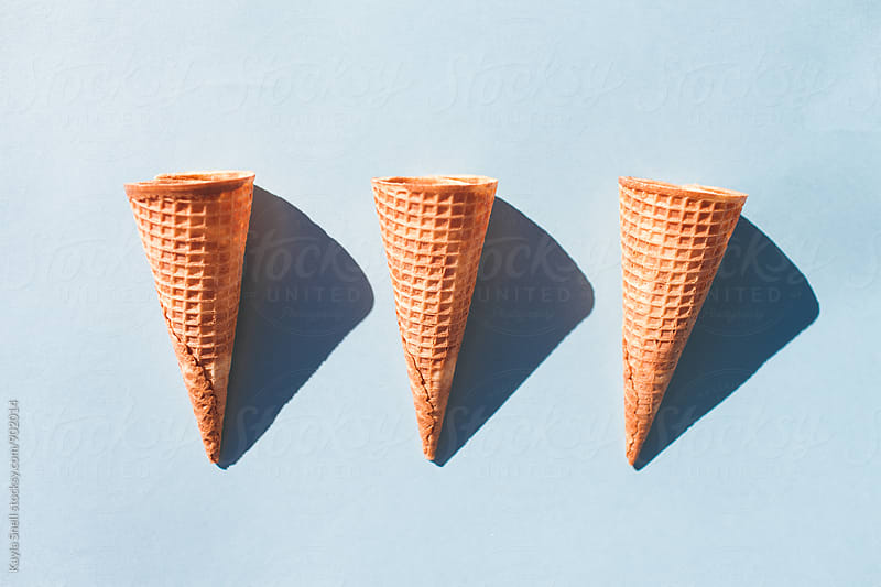 Ice Cream Cones by Kayla Snell for Stocksy United
