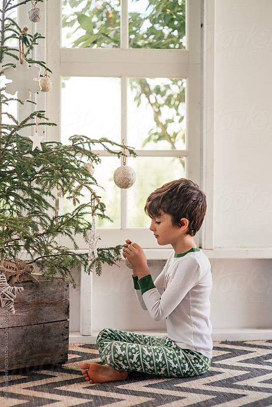 Christmas tree by Melanie DeFazio for Stocksy United