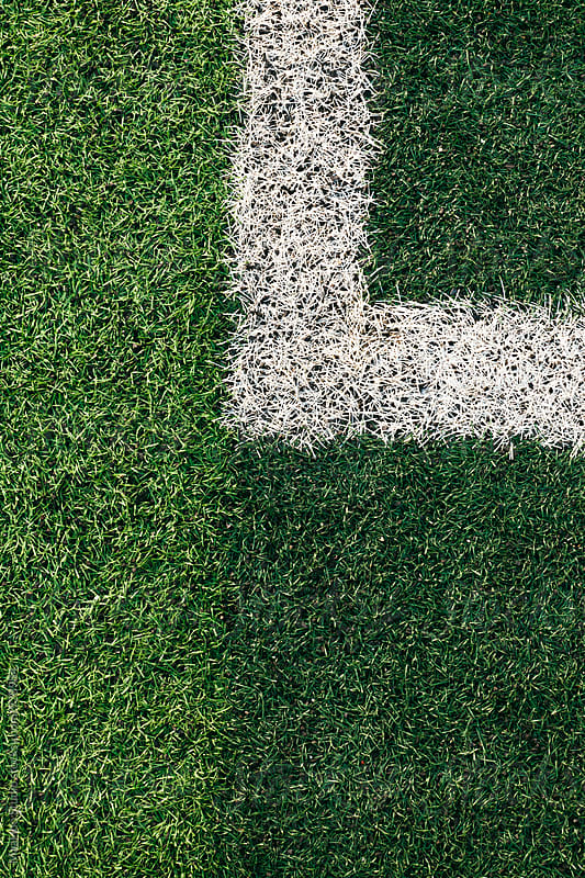White Lines On Soccer Field by MaaHoo Studio for Stocksy United