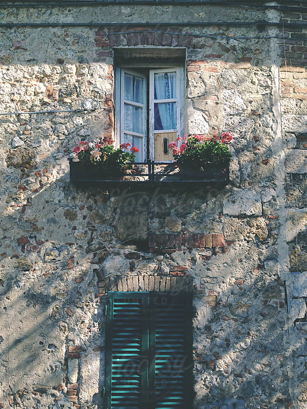 Landscape and rural views of beautiful Tuscancy in Italy by Greg Schmigel for Stocksy United
