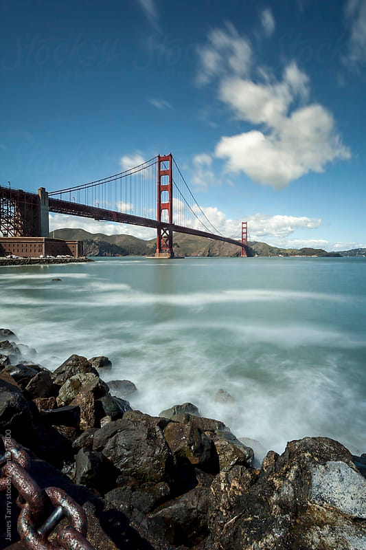 Golden Gate Bridge by James Tarry for Stocksy United