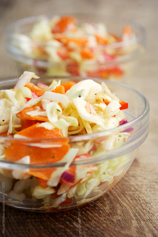 Tailgating Coleslaw by Harald Walker for Stocksy United