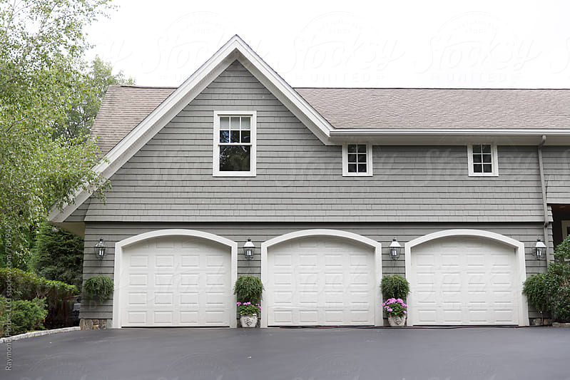 Garage Doors by Raymond Forbes LLC for Stocksy United