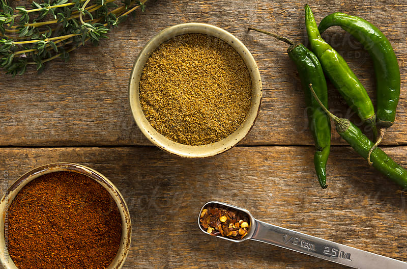 Spice it Up! Cumin, Chili and Peppers by Jeff Wasserman for Stocksy United