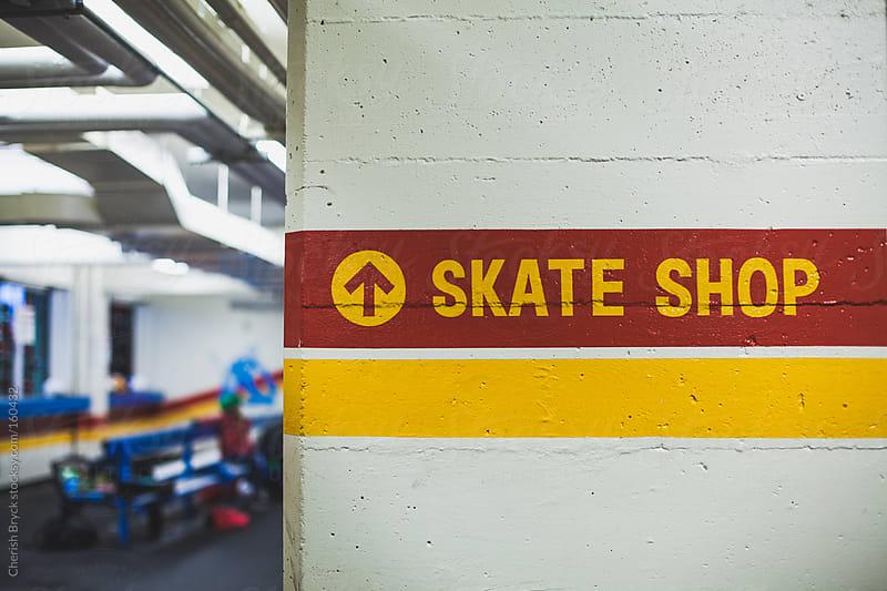At the hockey rink. by Cherish Bryck for Stocksy United